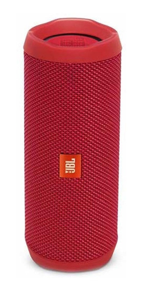 Caixa De Som Portátil Speaker Flip 4 Vermelho - Jbl