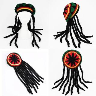 Touca Gorro Peruca Reggae Bob Marley Rastafari Dreadlocks