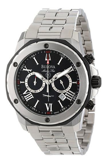 Relógio Luxo Bulova Marine Star 98b106 Importado