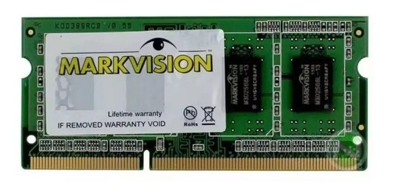Memoria Notebook 8gb 2400mhz Ddr4 Markvision