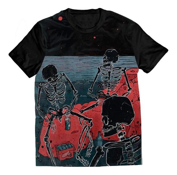 Blusa De Desenhos Tumblr Masculino Camisetas Curta Com O
