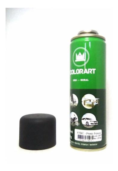 Tinta Spray Colorart Uso Geral Preta Brilhante Automotivo