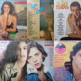 Trilha Sonora De Novelas Lote C/ 06 Vinil De 1987 A 1988