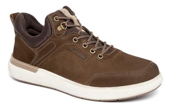 Sapato Casual Masculino Cruizer Spt Czr9502 Bradok Em Couro