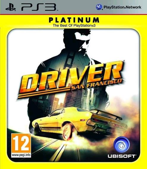 Driver San Francisco Platinum Ps3 Mídia Física Super Novo