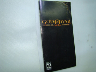 Manual God Of War Chains Of Olimpus Psp Nes,snes,ps4,xbox,36