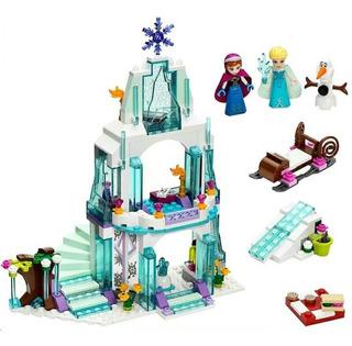Castillo Frozen Comp/ Lego Bloques Princesas Disney