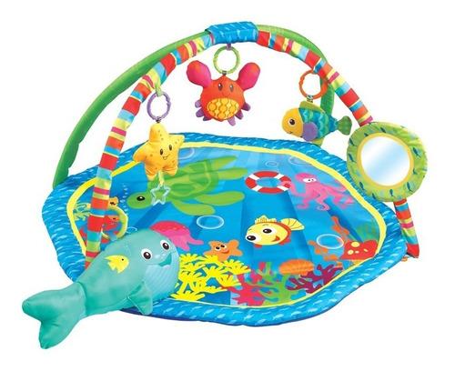 Imagen 1 de 4 de Gimnasio Bebé Felcraft Fitch Baby Bajo El Mar