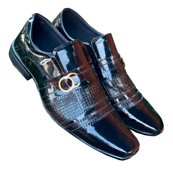 Sapato Social Elegance Verniz Mais Barato