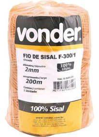 Fio De Sisal Oleado F-300/1 Vonder
