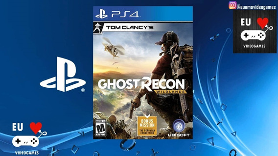 Ghost Recon Wildlands -aluguel 10 Dias -ps4-playstation 4