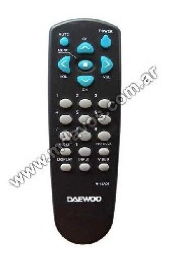 Control Remoto 449 Linea Economica Daewo Philco R4301a