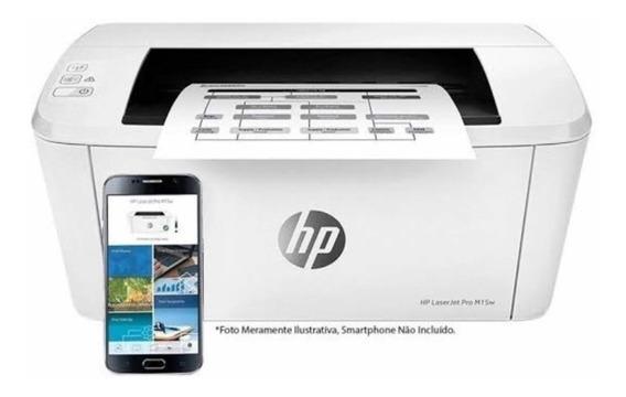 Impressora Hp Laserjet Pro M15w Wireless 220v Pronta Entrega