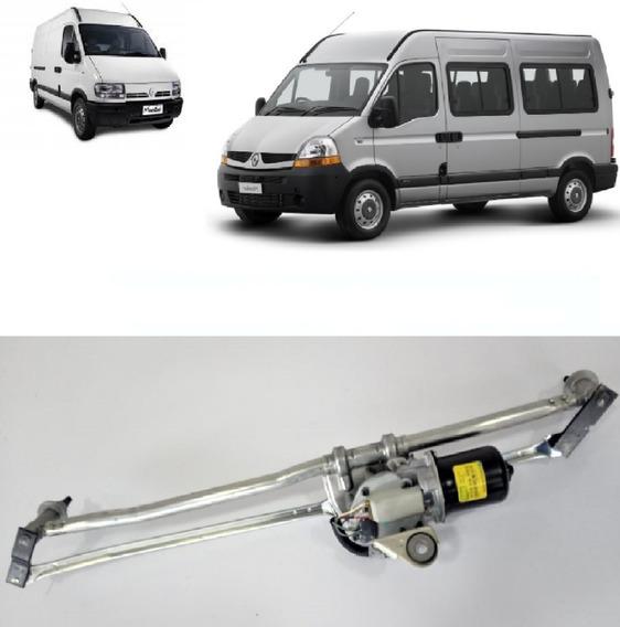 Kit Motor E Braços Limpador Para Brisa Renault Master Il 2.5 2005 2006 2007 2008 2009 2010 2011 2012 2013 - 8200336393