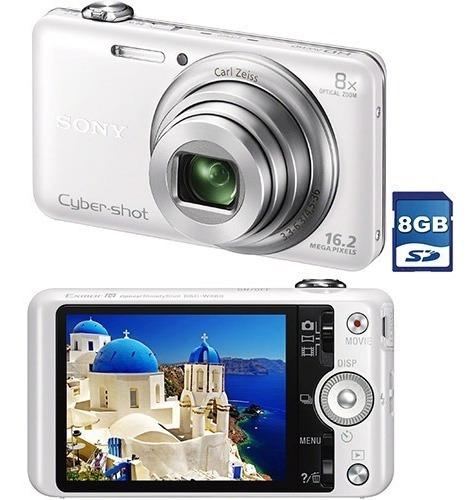 Câmera Digital Sony Dsc - Wx60/w C/ Memoria 8gb