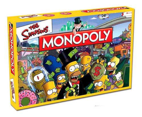 Monopoly The Simpsons Toyco