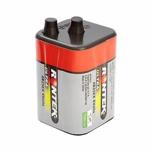Bateria Pilha 6v 5500mah Rontek (70x70x99mm)