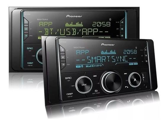 Rádio Pioneer Mvh-s628bt Bluetooph + Controle Longa Distânci