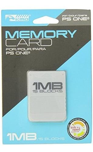 Tarjeta De Memoria Komodo Playstation 1 1mb