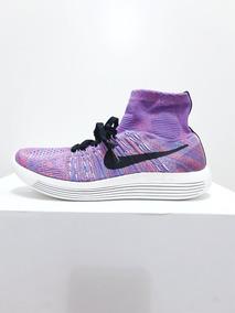 Tênis Nike Lunarepic Flyknit Corrida Preto\roxo N. 39 40 42