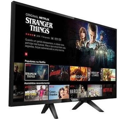 Smart Tv Philips Com Controle Inteligente +suporte