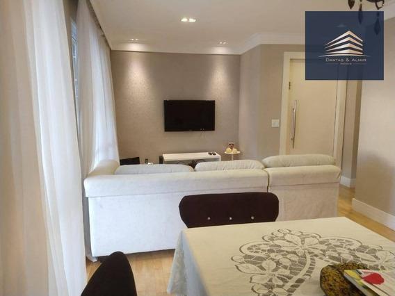 Apartamento No Condomínio Parque Clube, Vila Augusta, 92m², 2 Suítes, 2 Vagas. - Ap0748