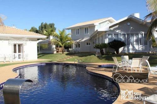 Casa Com 5 Dormitórios À Venda, 900 M² Por R$ 4.450.000,00 - Fazenda Vila Real De Itu - Itu/sp - Ca0360