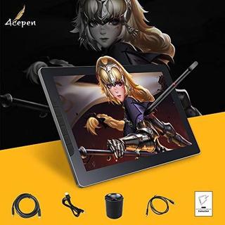 Acepen Ap1303 Pro De Dibujo De La Tableta Con La Pantalla Co