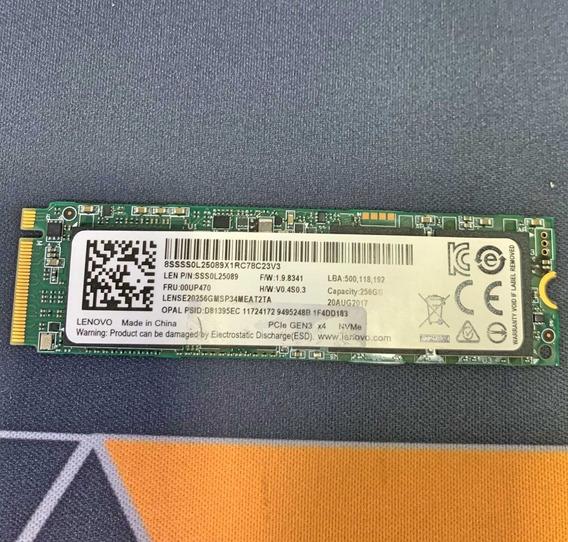 Ssd Lenovo 256gb | M2 | Sss0l25089 | 100% | Usado