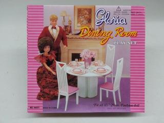 Gloria Dinning Room Play Set Para Muñecas