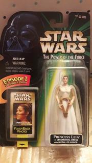 Leia Ceremonial W/ Medal Honor Potf Star Wars (back Photo)