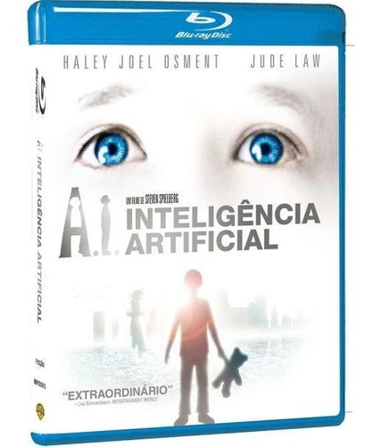 Blu-ray A.i. Inteligencia Artificial - Steven Spielberg