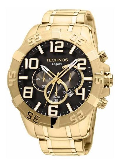 Relógio Technos Masculino Dourado Classic Legacy Os20im/4p