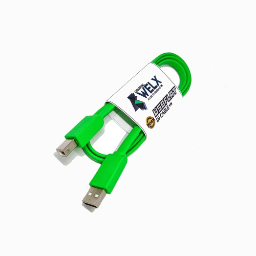 Cable Welx Audio Usb Flat Type B 1 Metro Palermo