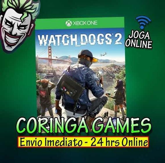 Watch Dogs 2 Xbox One Mídia Digital Mais 2 Jogos Brindes