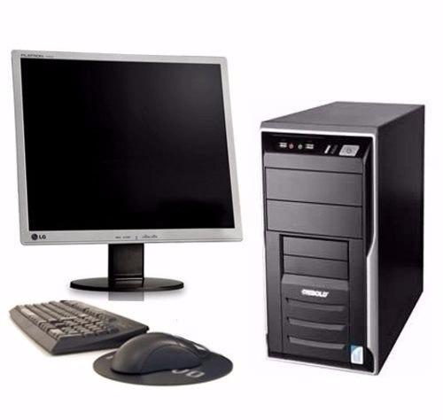 Cpu Completo Dual 2 Gb Hd 80 Monitor 15