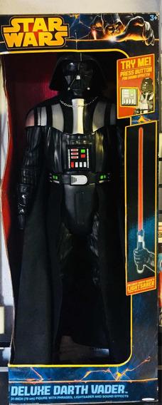 Star Wars Figura De Darth Vader De Lujo Gigante 31 Pulgadas