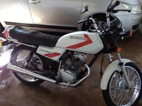 Honda Cg 125 Ano 1985 Com Apenas 17mil Km Original!