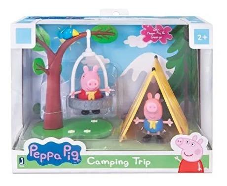 Peppa Pig Playtime Set Camping Diversión