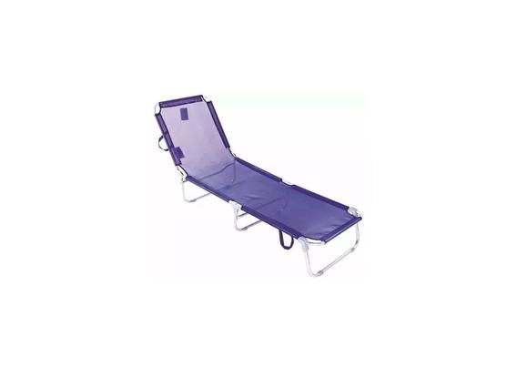 Cadeira Espreguiçadeira Praia/ Piscina