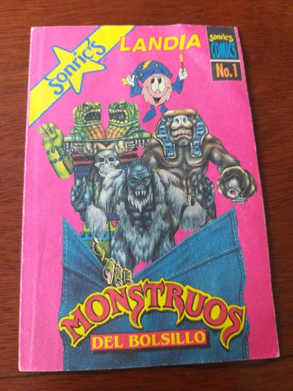 Comic Monstruos Del Bolsillo #1
