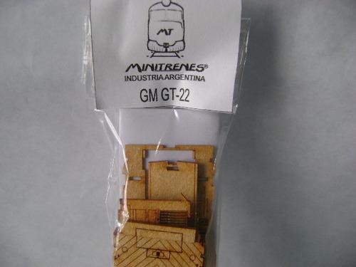 Imagen 1 de 8 de Nico Locomotora Gm Gt-22 Kit Fibrofacil H0 (mnl 07)