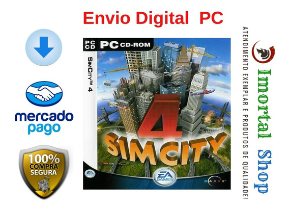 Sim City 4 Mídia Digital Pc