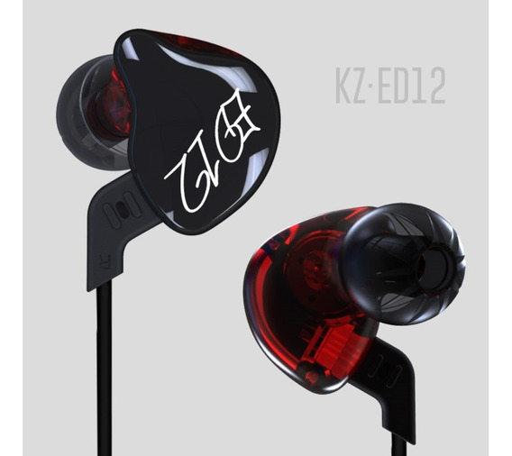 Fone De Ouvido Estéreo E Cabo Kz Ed12