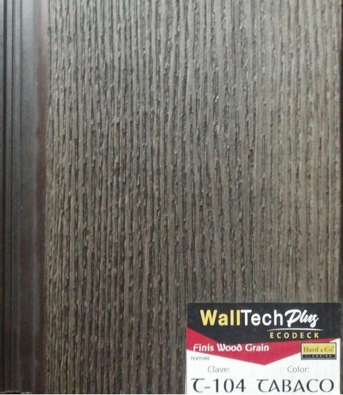 Deck Pvc, Muro Deck Exterior; Sintético Fachada Exterior