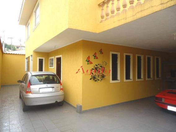 Sobrado Com 3 Dormitórios À Venda, 188 M² Por R$ 600.000,00 - Jardim Santo Antônio - Santo André/sp - So0014