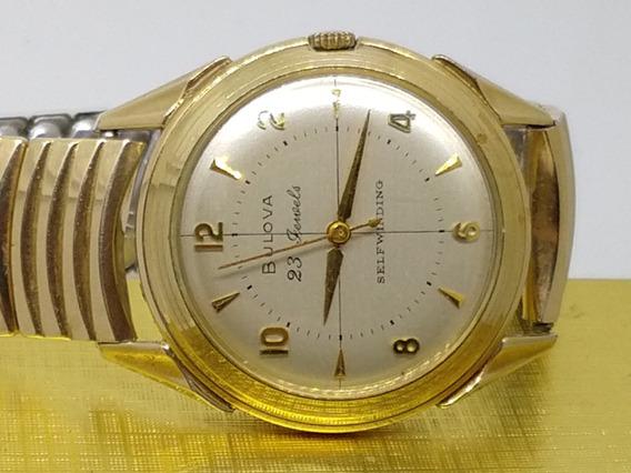 Relógio Bulova 1957, Usa Ouro Top!