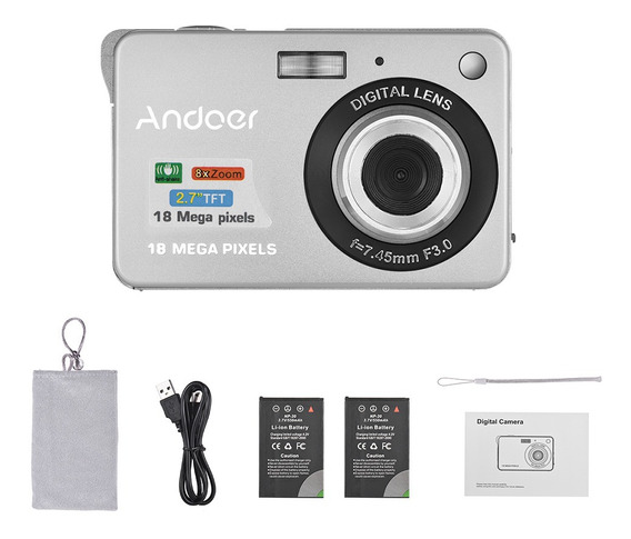 Andoer 18 M 720 P Hd Camera De Vdeo Digital Camcorder Com 2