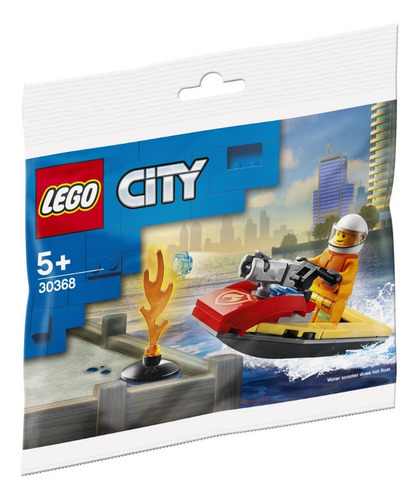 Lego City: Builder Bags  - Fire Rescue Water Scooter