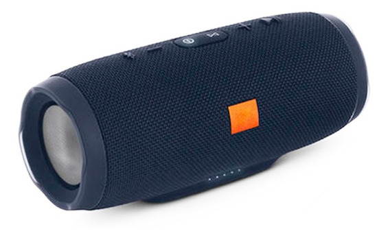 Caixa De Som Portátil Charge 3 Bluetooth Preto